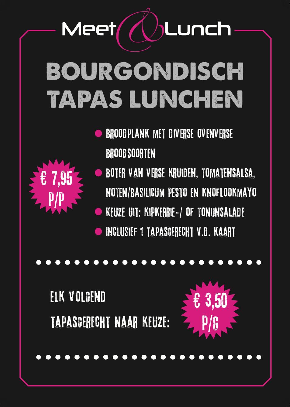 Lunch Arnhem Meet & Ribs